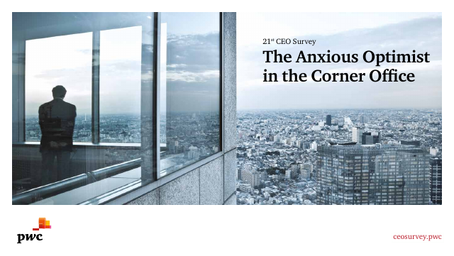 image from 21st CEO Survey: The Anxious Optimist In The Corner Office