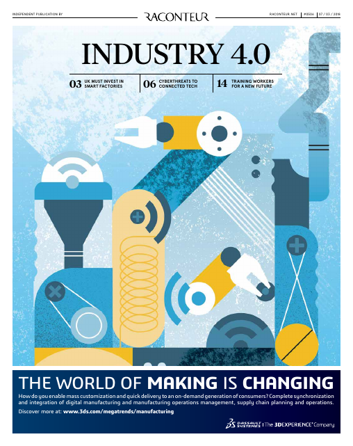 image from Industry 4.0: The World Of Making Is Changing