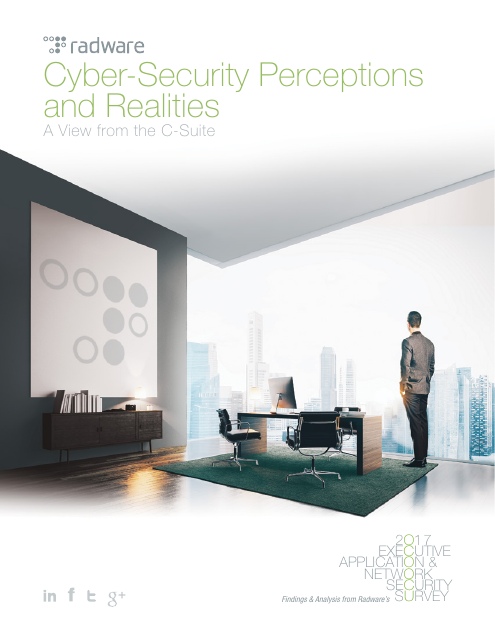 image from Cyber-Security Perceptions And Realities: A View From The C-Suite