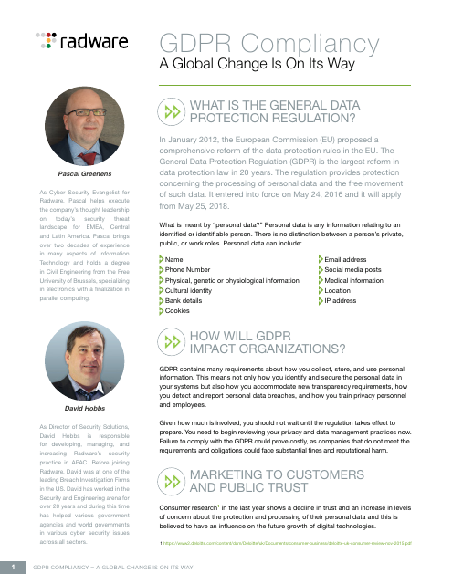 image from GDPR Compliancy: A Global Change Is On Its Way