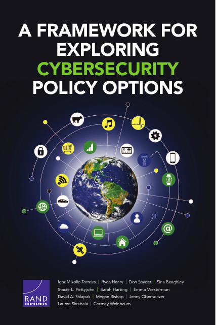 image from A Framework For Exploring Cybersecurity Policy Options