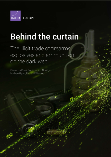 image from Behind The Curtain: The Illicit Trade Of Firearms, Ammunition, And Explosives On The Dark Web