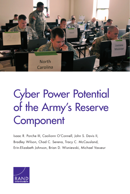 image from Cyber Power Potential Of The Army's Reserve Component