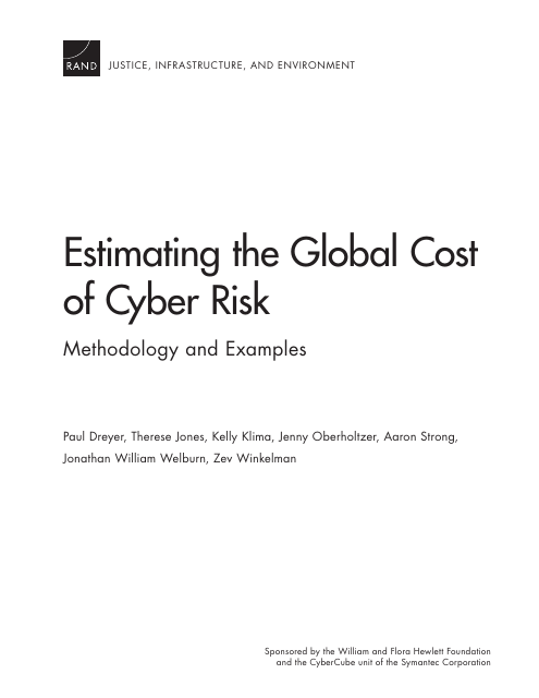 image from Estimating The Global Cost Of Cyber Risk: Methodology And Examples