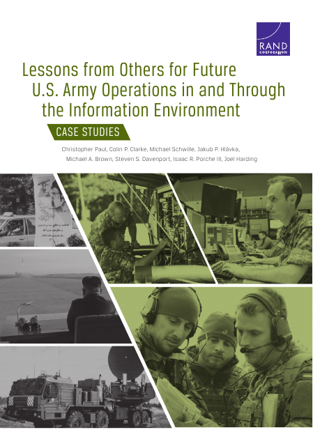 image from Lessons From Others For Future U.S. Army Operations In And Through The Information Environment