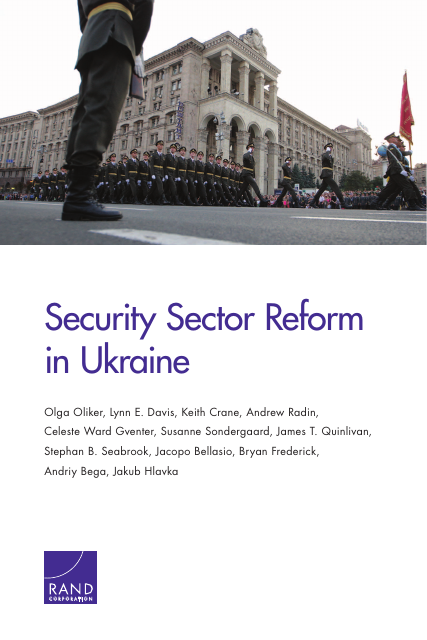 image from Security Sector Reform In Ukraine
