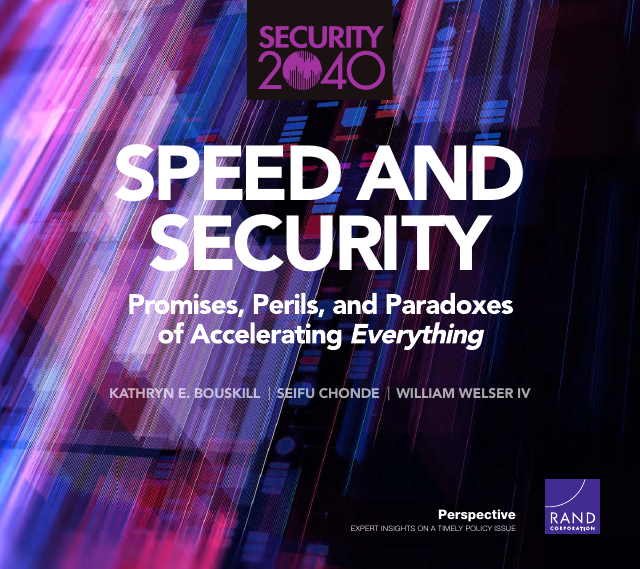 image from Speed And Security: Promises, Perils, And Paradoxes Of Accelerating Everything