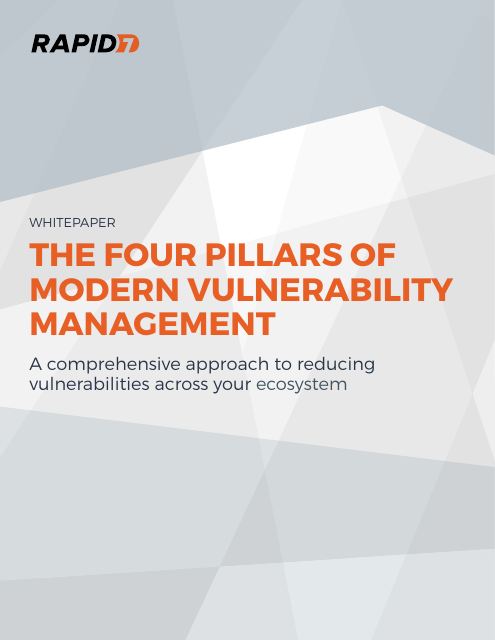 image from The Four Pillars Of Modern Vulnerability Management