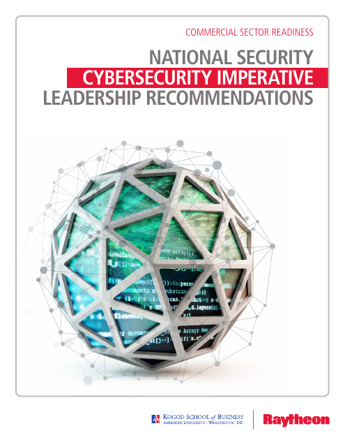image from National Security Leadership Recommendations: Cybersecurity Imperative