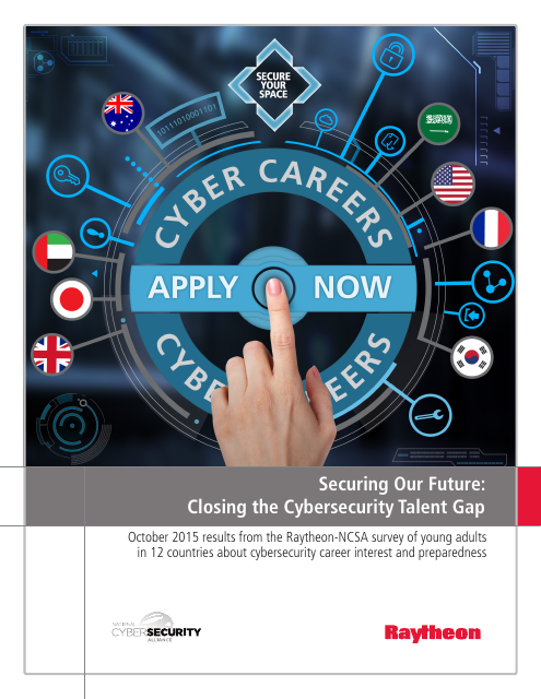 image from Securing Our Future: Closing the Cybersecurity Talent Gap (October 2015)