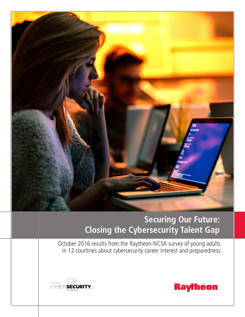 image from Securing Our Future: Closing the Cybersecurity Talent Gap (October 2016)