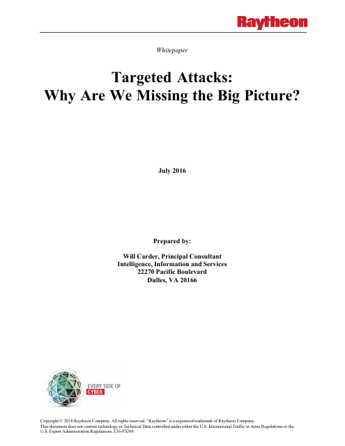 image from Targeted Attacks: Why Are We Missing The Big Picture