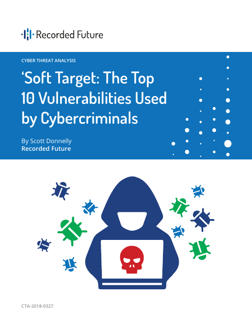 image from Soft Target:The Top 10 Vulnerabilities Used by Cybercriminals