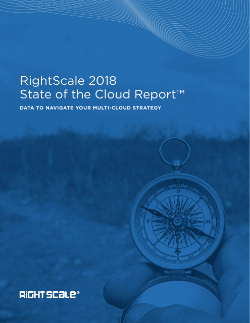 image from RightScale 2018 State Of The Cloud Report