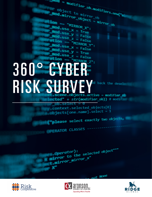 image from 360 Degrees Cyber Risk Survey