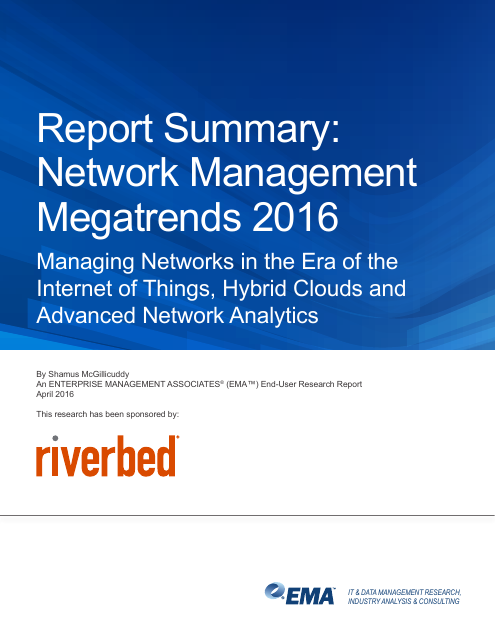 image from Report Summary: Network Management Megatrends 2016