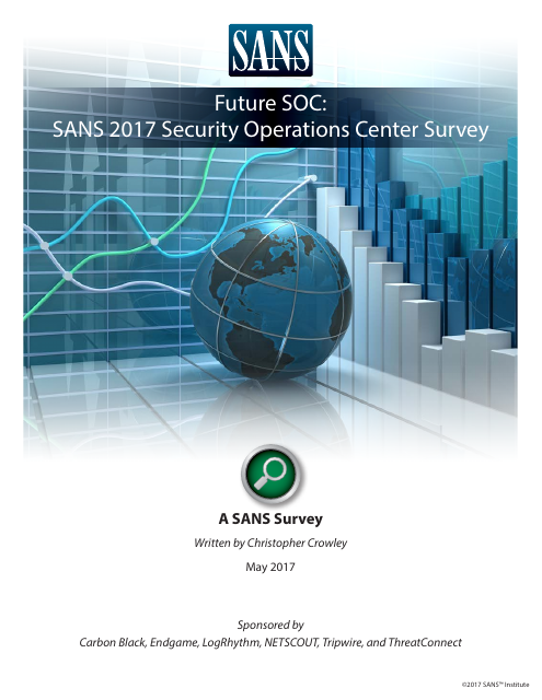 image from 2017 Security Operations Center Survey