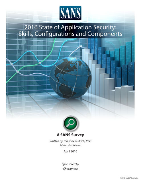 image from 2016 State of Application Survey:Skills, Configurations, and Components