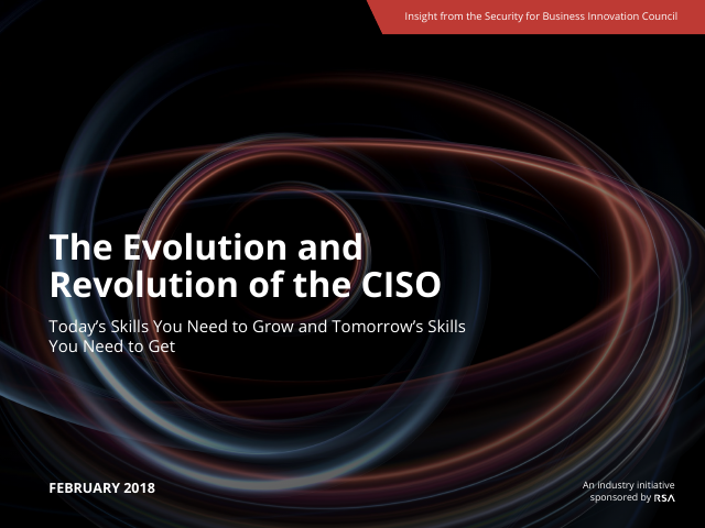 image from The Evolution And Revolution Of The CISO