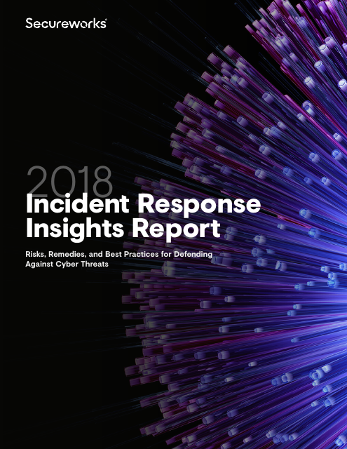 image from 2018 Incident Response Insights Report