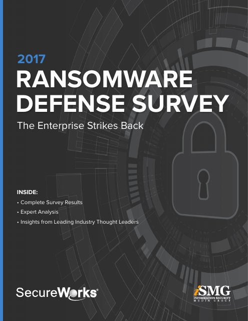 image from 2017 Ransomware Defense Survey Report: The Enterprise Strikes Back