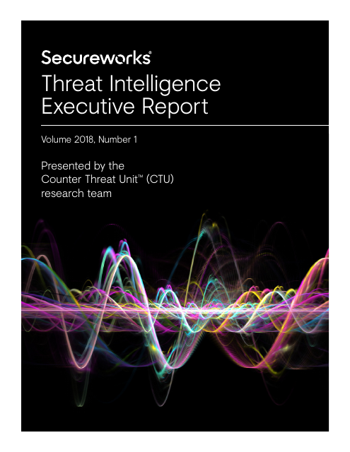 image from Threat Intelligence Executive Report 2018: Volume 1