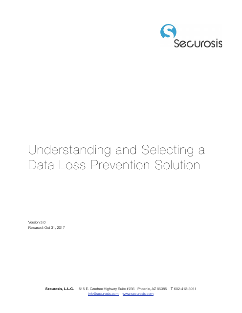 image from Understanding And Selecting A Data Loss Prevention Solution