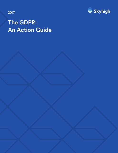image from The GDPR: An Action Guide