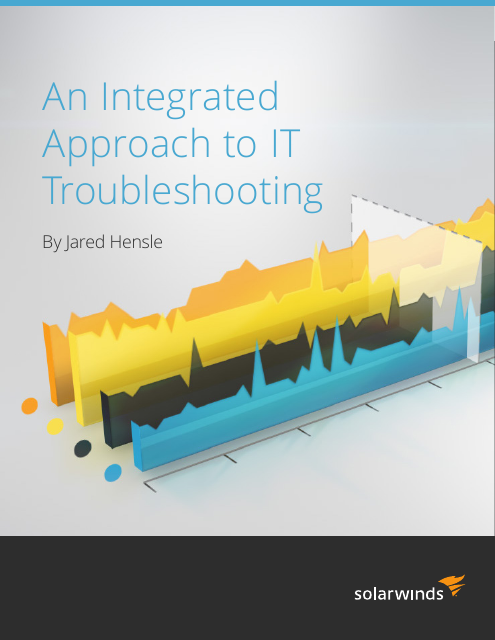 image from An Integrated Approach To IT Troubleshooting
