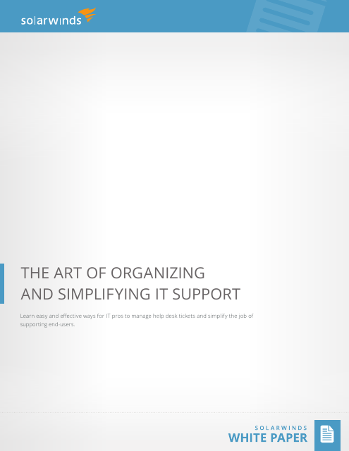 image from The Art Of Organizing And Simplifying IT Support