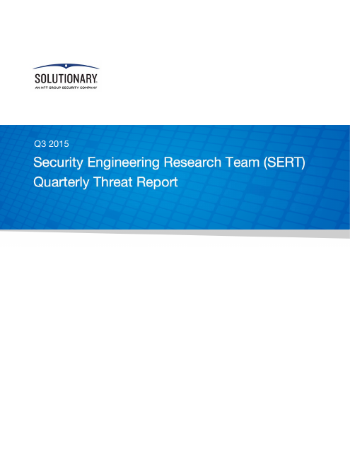 image from SERT Quarterly Threat Report 2015