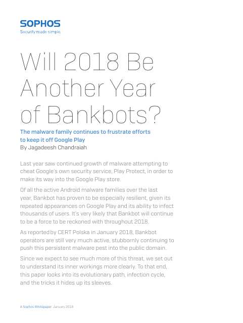 image from Will 2018 Be Another Year Of Bankbots?
