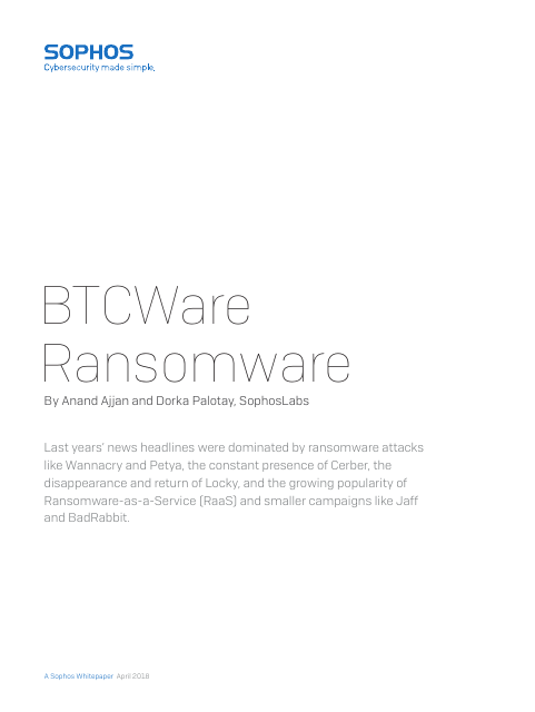 image from BTCWare Ransomware
