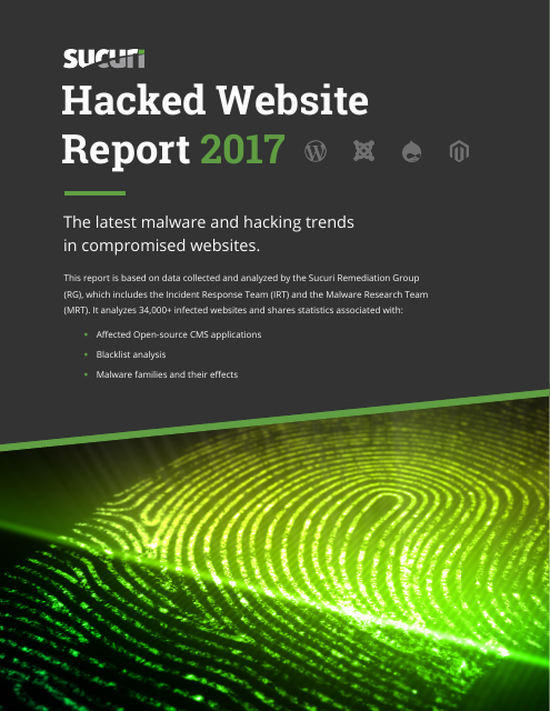 image from 2017 Hacked Website Report