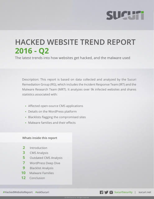 image from 2016 Hacked Website Report Q2
