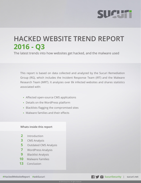 image from 2016 Hacked Website Report Q3