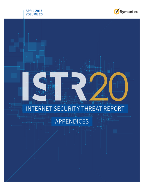 image from 2015 Internet Security Threat Report, Volume 20, Appendices