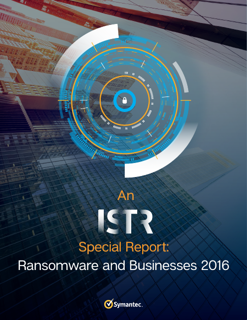image from Ransomware and Businesses 2016