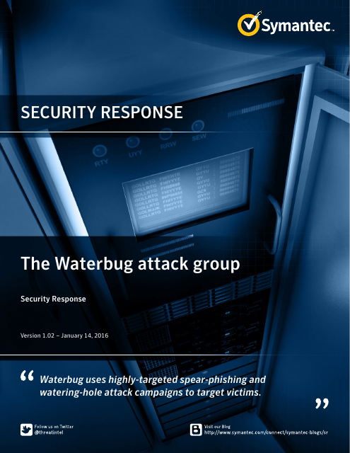 image from Security Response: The Waterbug Attack Group