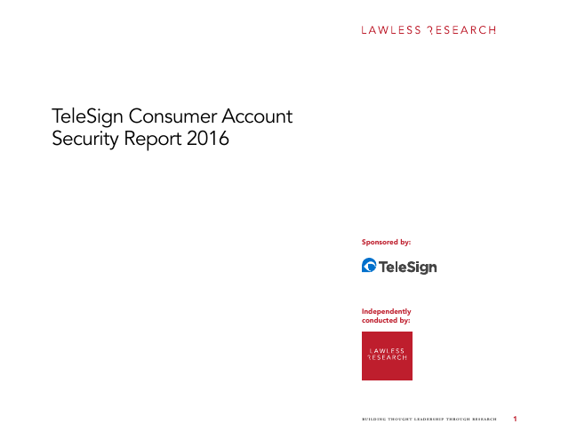 image from Consumer Account Security Report 2016