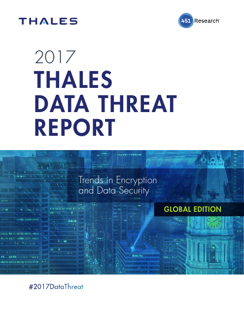 image from 2017 Data Threat Report Global Edition