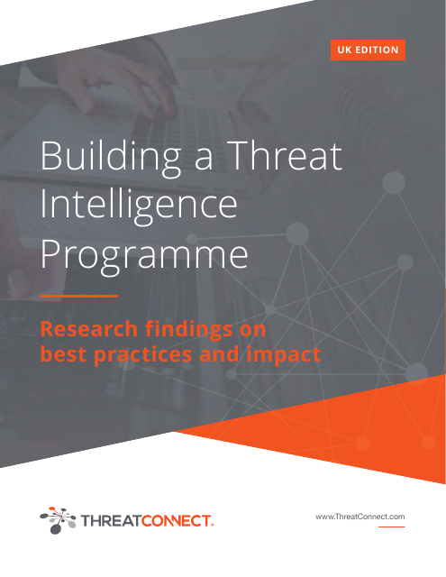 image from Building A Threat Intelligence Programme UK Edition