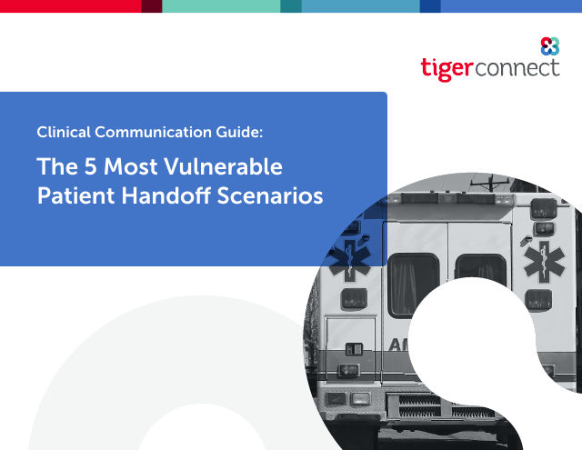 image from The 5 Most Vulnerable Patient Handoff Scenarios