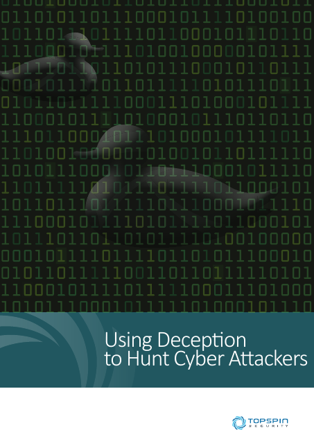 image from Using Deception to Hunt Cyber Attackers
