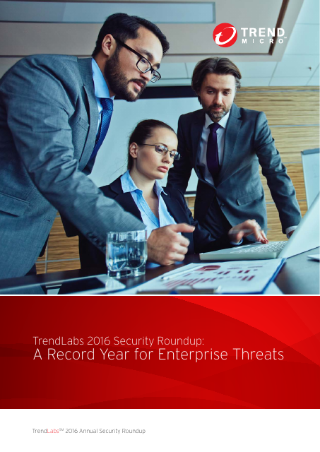 image from TrendLabs 2016 Security Roundup:A Record Year for Enterprise Threats