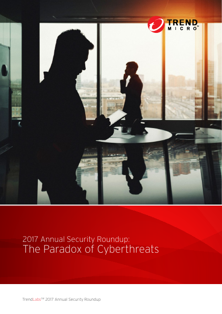 image from Annual Security Roundup: The Paradox Of Cyberthreats