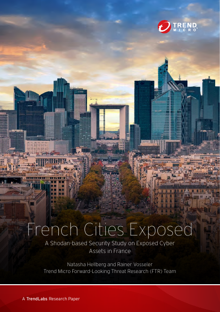 image from French Cities Exposed: A Shodan-based Security Study On Exposed Cyber Assets In French Cities