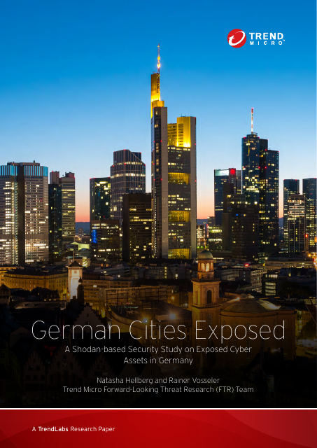image from German Cities Exposed: A Shodan-based Security Study On Exposed Cyber Assets In German Cities