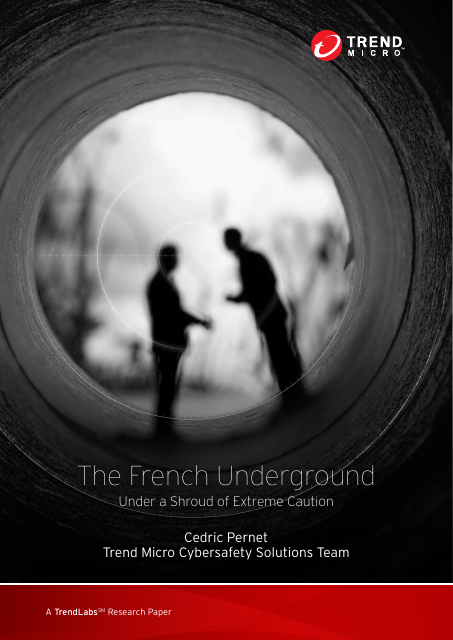 image from The French Underground: Under A Shroud Of Extreme Caution