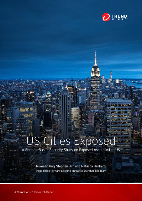 image from US Cities Exposed: A Shodan-based Security Study On Exposed Assets In Cities In The US